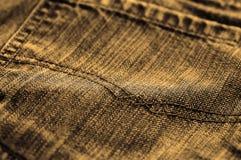 Jeans sepia tone Royalty Free Stock Photos