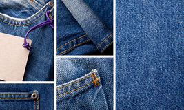 Jeans set Royalty Free Stock Image