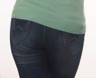 Jeans sexy Fotografia Stock