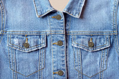 Jeans shirt Stock Photography
