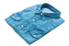 Jeans shirt Royalty Free Stock Photography