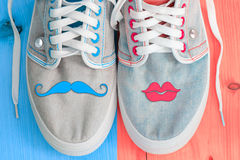 Free Jeans Shoes Royalty Free Stock Photos - 47980788
