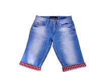 Jeans shorts Stock Image