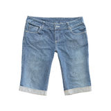 Jeans shorts Royalty Free Stock Photography