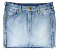 Jeans skirt Stock Photos