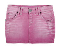 Jeans skirt Stock Photo