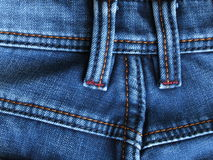 Jeans slösar bakgrund - materielfoto Royaltyfria Bilder