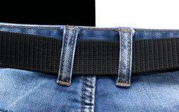 Jeans som en bakgrund Royaltyfria Bilder