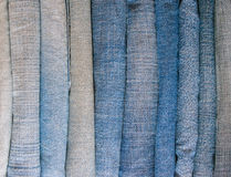 Jeans stack Royalty Free Stock Photos