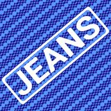 Jeans stamp sport typography, t-shirt graphics, vector royalty free illustration