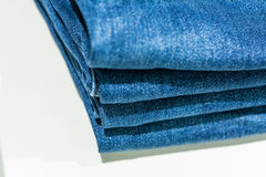 Jeans store Royalty Free Stock Photography