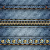 Jeans stripe Royalty Free Stock Photo
