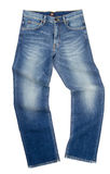 Jeans, stylish jeans on blackground Royalty Free Stock Photography