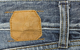 Jeans tag Stock Image