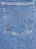 Jeans-Tasche Stockbild