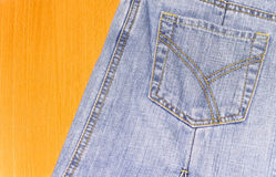 Jeans Tasche Lizenzfreie Stockbilder