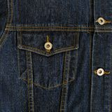 Jeans textile pocket Stock Photography