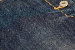 Jeans texture. Old and vintage jeans texture Stock Image