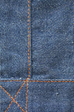 Jeans Texture. Close up shot of blue jeans texture Stock Image