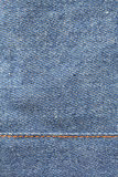 Jeans Texture. Close up shot of blue jeans texture Stock Photos