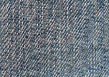 Jeans texture. Blue shabby jeans texture super close-up royalty free stock images