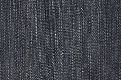 Jeans Texture. Texture of black jeans macro Stock Images