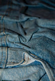 Jeans texture. Blue classic jeans texture background Stock Photography