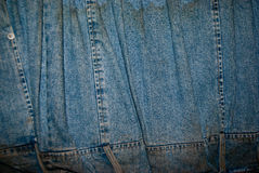 Jeans texture. Dirty classic jeans texture background Royalty Free Stock Photo