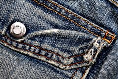 Jeans texture. Royalty Free Stock Image