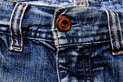 Jeans texture. Stock Images