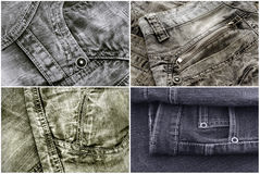 Free Jeans Texture Royalty Free Stock Photography - 38743967