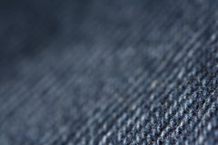 Jeans texture. A close-up photo of a blue jeans Stock Photo