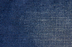 Jeans texture or background denim blue Stock Photography