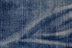 Jeans texture or background denim blue Stock Images
