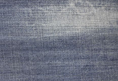 Jeans texture background fabric of blue denim textile Stock Image