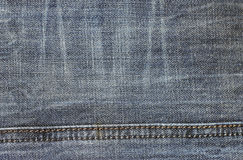 Jeans texture background fabric of blue denim textile Royalty Free Stock Photography