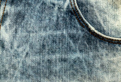 Jeans texture background. Jeans textile canvas Royalty Free Stock Photos