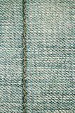 Jeans texture background and seam for text area Stock Photo