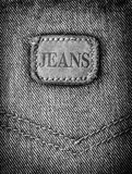Jeans texture background Stock Image