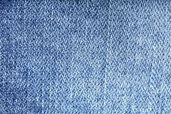 Jeans texture background - worn jean pants closeup Stock Image