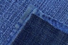 Jeans texture. Blue colour Stock Photography