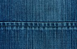 Jeans texture close up. Can be used as a background Royalty Free Stock Photo