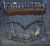 Jeans texture Stock Images