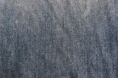 Jeans texture. Close up of blue jeans texture stock image