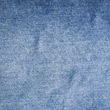 Jeans texture, fabric. Royalty Free Stock Photography