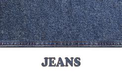 Jeans texture for a fashion style royalty free stock photo