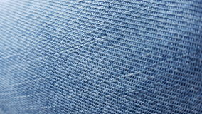 Jeans texture light blue Royalty Free Stock Images