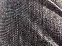 Jeans Texture Macro Royalty Free Stock Photo