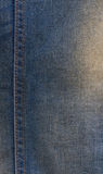 Jeans texture with seams Royalty Free Stock Photos