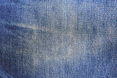Jeans texture with seams Stock Photography